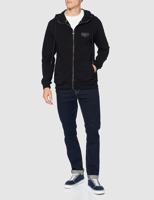 Gianni Kavanagh Black Diamond Hoodie Jacket Ch/ándal para Hombre