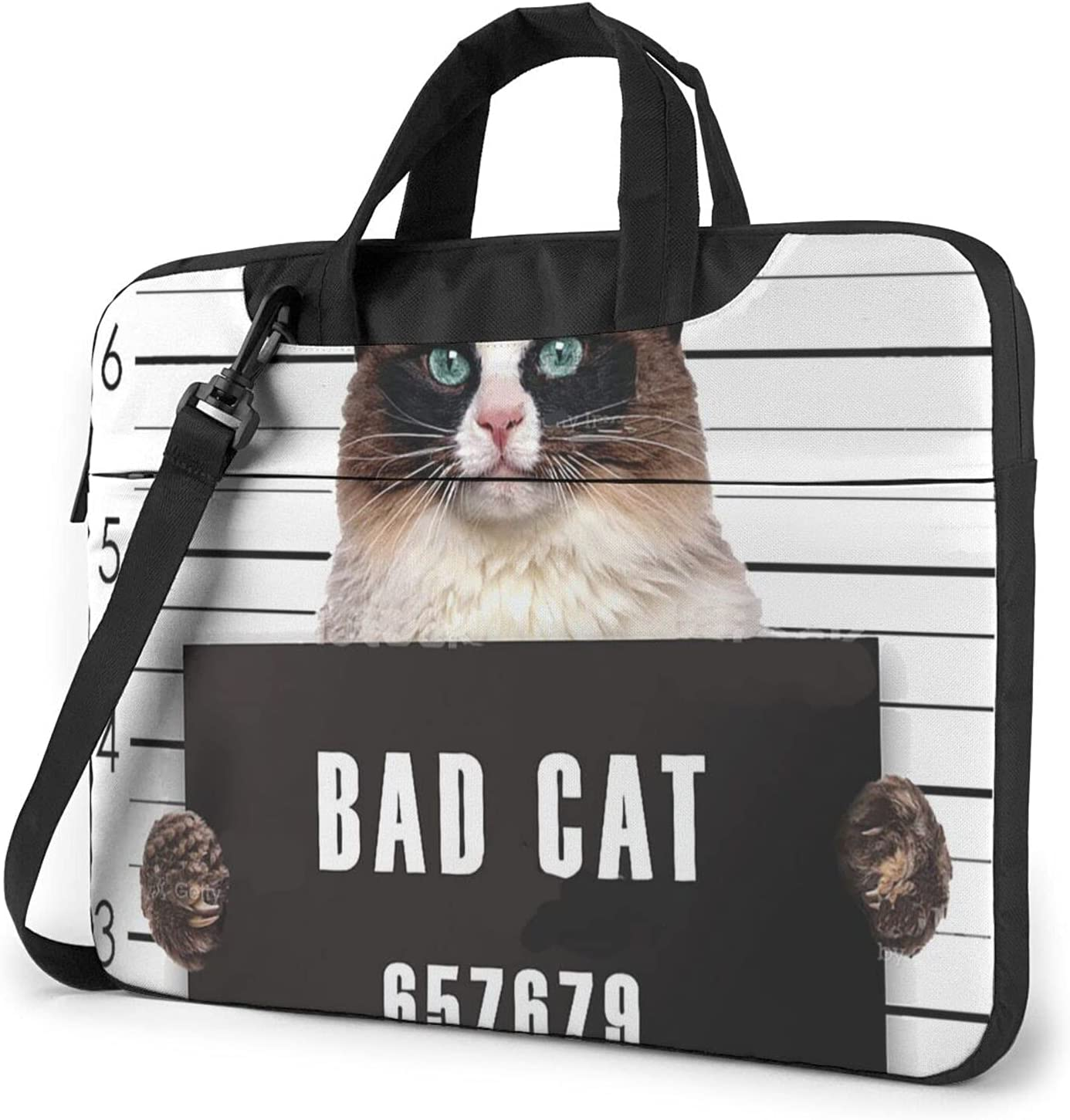 Bad Gang Cat Classic Outlet ☆ Free Shipping Slim Special price Crossbody Shoulder Desi Bag Briefcase