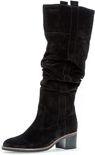 Gabor Shoes Bottes Talon Bloc Dessus/Effet galvanisé pour Femme Comfort, Confortable en, modèle 51.679