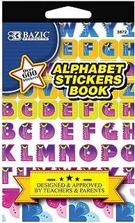3pk, Bazic Alphabet Stickers Book