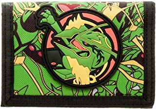 Official Pokemon Rayquaza Childrens Character Tri-fold Wallet