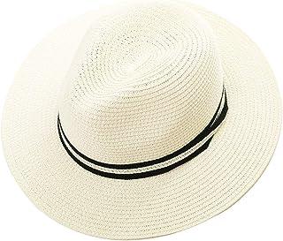 (シッギ)Siggi つば広 取り外すあご紐 サイズ調節可 折りたたみ可 メッシュ おしゃれ 女優帽子 麦わら帽子 レディース 春夏 UVカット 旅行 ゴルフ 自転車 56-58CM