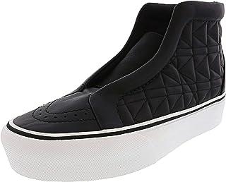 Vans Sk8-Hi Laceless Platform Karl Lagerfeld High-Top Leather Fashion Sneaker