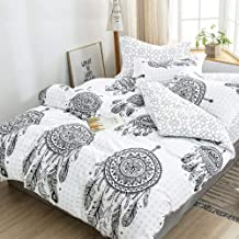 Mandala Dream Catcher Quilt Cover Set - All Size Bed Ultra Soft Quilt Duvet Doona Cover Set with Pillowcase (Super King)