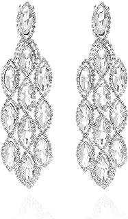 droplet earrings bridal