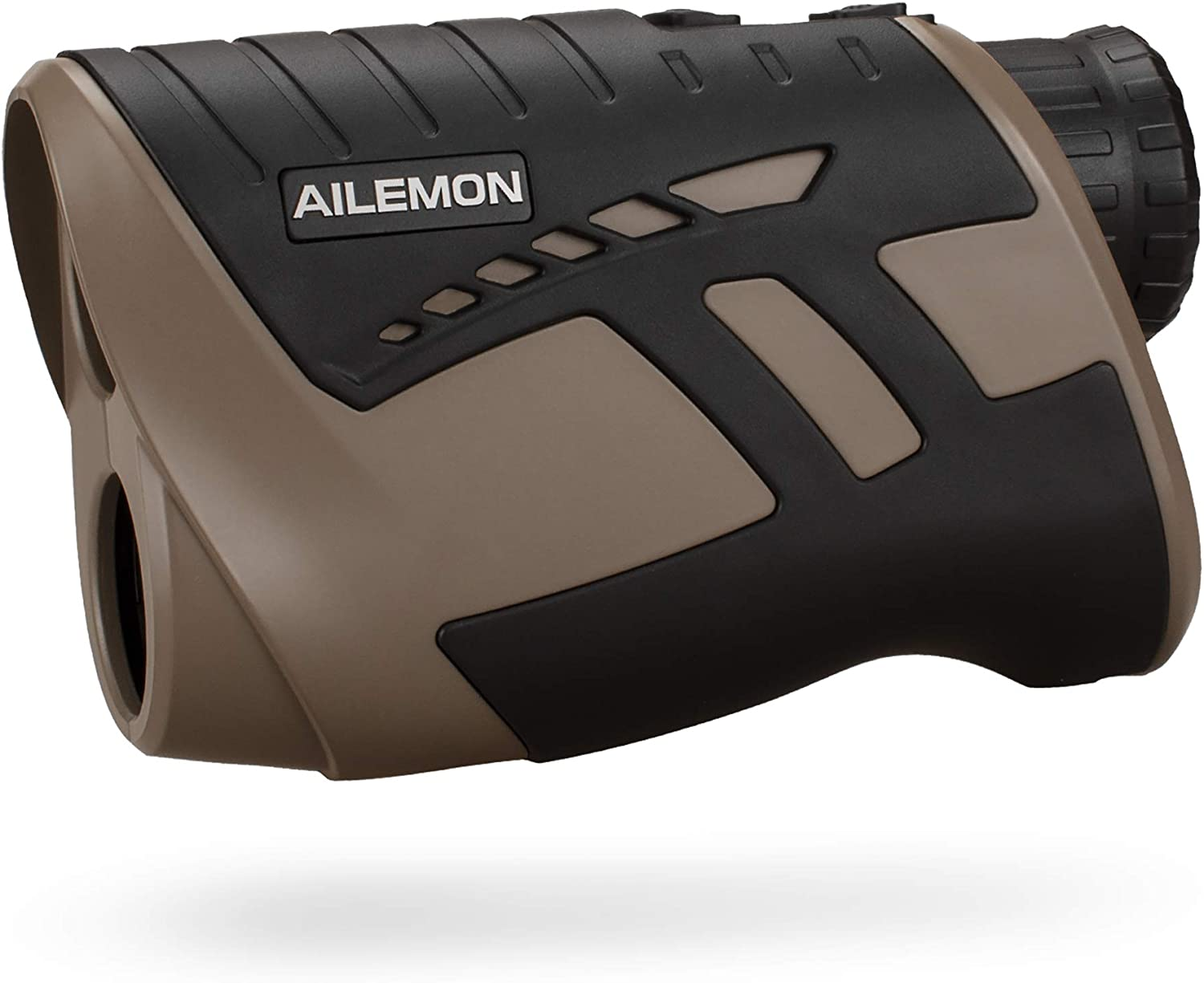 4. AILEMON 6X Golf/Hunting Rangefinder Rechargeable 900Y Distance Measuring Scope.