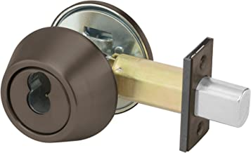 Yale B-D212 X 613E X SFICLC LC 200 Series Deadbolt, Cylinder by Thumbturn, SFIC Cylinder Prep Less Cylinder, 2 3/4