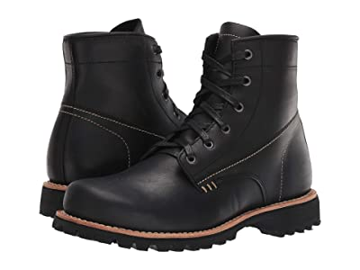 Georgia Boot Small Batch 6 Lace-Up (Black) Men