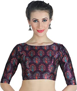 27778da6ea22f5 Amazon.in: Purples - Blouses / Ethnic Wear: Clothing & Accessories