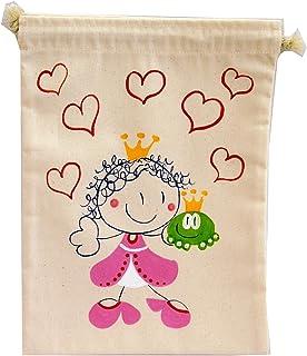 Saco de merienda personalizado Princesa
