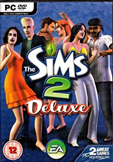 The Sims 2 Deluxe (Sims 2 and Sims Nightlife Expansion) - PC