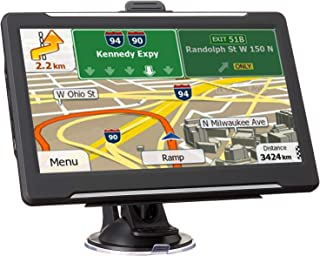 $48 » Sponsored Ad - GPS Navigation for Car Vehicle, Navigator System 7 Inch LCD Touch Screen 8GB Lifetime Map Update Direct Acc...