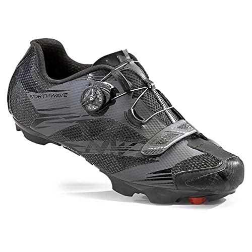 Northwave Man MTB XC Shoes Scorpius 2 Plus Wide Black/Anthracite Grey