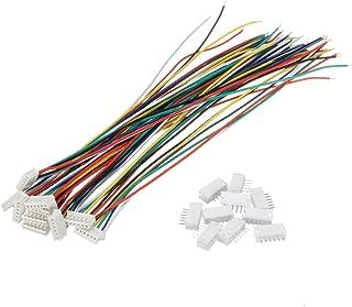 Frieed MINIKIRT Micro JST 1.5mm ZH Câbles de connecteur 6 Broches de 6 Broches 15cm 10 Set Durable