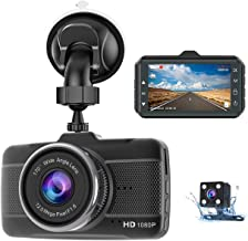 $35 » Dual Dash Cam Front and Rear, Claoner FHD 1080P Backup Car Camera with Night Vision, 3 Inch IPS Screen, 170° Wide Angle, Loop Recording, G-Sensor, Motion Detection, Parking Monitor