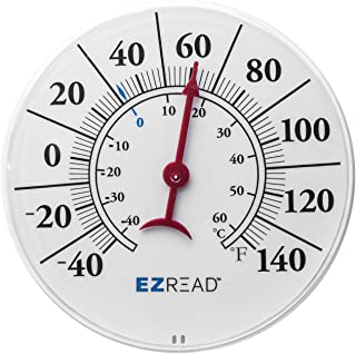 Headwind 8400009 Indoor and Outdoor Dial Thermometer, 8-Inch