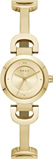 DKNY Women's Quartz Watch analog Display and Stainless Steel Strap, NY2750
