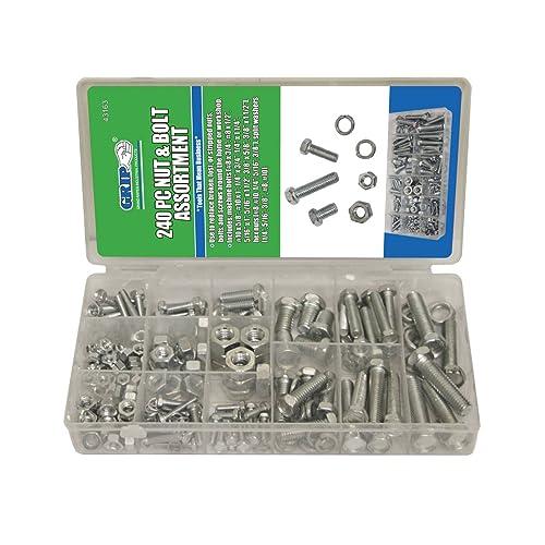 Titan Tools 45250 Metric Nuts /& Bolts Assortment 475 Piece