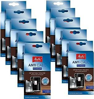 Lot de 10 détartrants Melitta Anti Calc - Pour machine à café