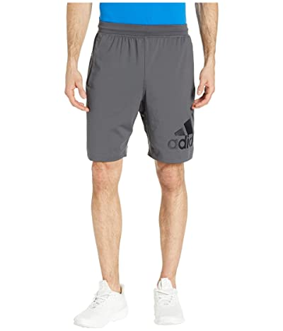 adidas 4KRFT 9 Badge of Sport Shorts (Grey Six) Men