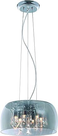 Taschibra FINESE 15050349, Lustre, G9, 150 W, Fumê Bivolt