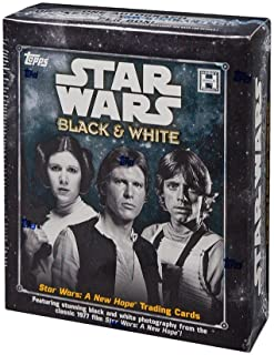 2018 Topps Star Wars Black and White: A New Hope