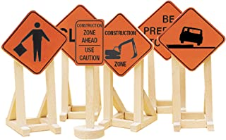 Lionel Electric O Gauge Model Train Accessories, Construction Zone Signs #2