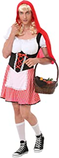 Burly Red Riding Hood Costume - Funny Adult Halloween Costumes for Men