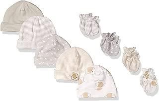 GERBER Baby 9-Piece Cap and Mitten Bundle