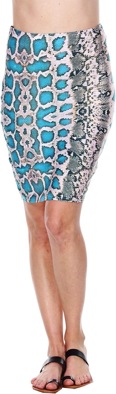 WM Women's Print Pencil Skirt
