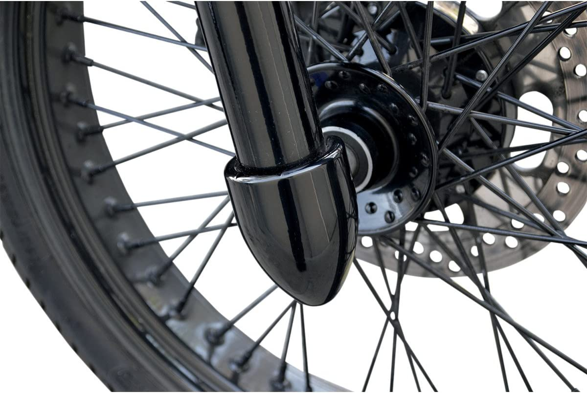 Be super welcome Baron Custom Accessories Fork Free shipping New Bullets Axle BA-7800B Nut Covers