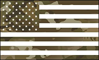 multicam flag decal