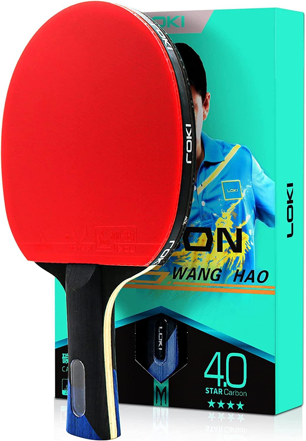Senston Table Tennis Paddle with Case Pong Ping Free shipping / New ITTF Ranking TOP9 Pr