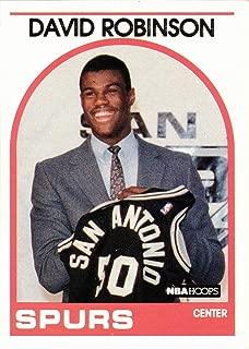 1989-90 NBA Hoops Basketball #138 David Robinson Rookie Card