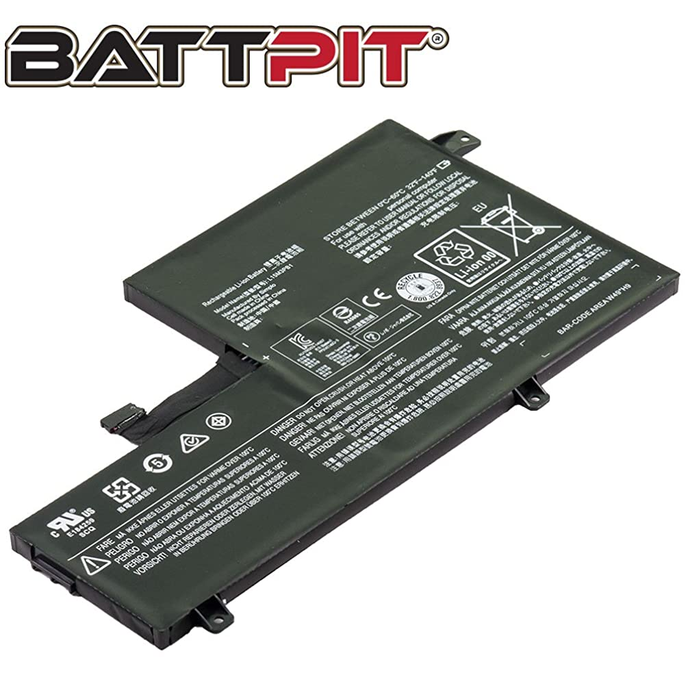 Battpit? Laptop/Notebook Battery Replacement for Lenovo Chromebook N22 80VH0001US (4050mAh / 45Wh)