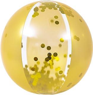 Jilong Glitter Gold Beach ball, Multicolor, 57147