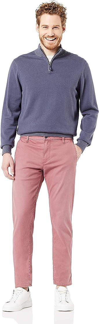 Dockers Smart Supreme Flex Alpha Original Tapered Pantalones Informales para Hombre