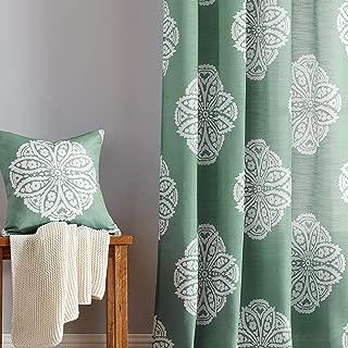 Best green medallion curtains Reviews