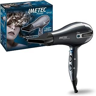 Imetec Power to style K5 2200 - Secador de pelo, 2200W, tecnología de iones, hidrata el cabello y reducir el encrespamiento, 8 combinaciones de aire y temperatura, golpe de aire frío, sin difusor