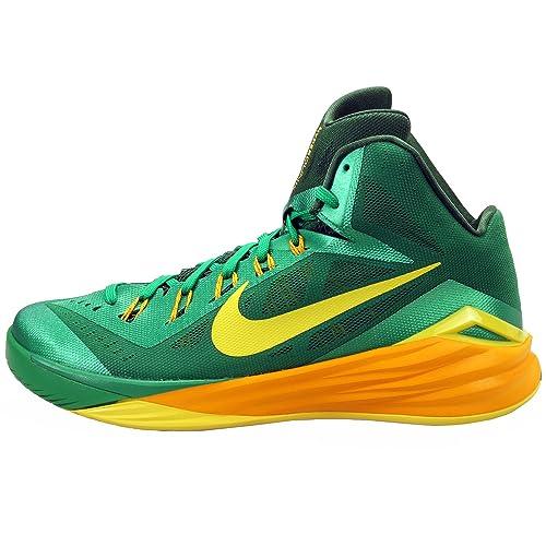 new style 3dd09 2cadb Nike HYPERDUNK 2014 MENS 653640-373 BASKETBALL SHOES GREEN 10 M US
