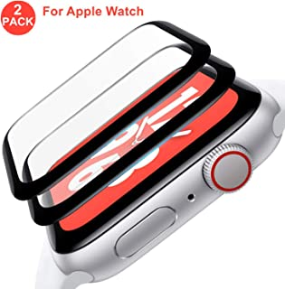 Screen Protector Compatible with Apple Watch (42mm Series iWacth 3/2/1 Compatible), HD Anti-Bubble Scratch-Resistant Guard Cover 3D Tempered Glass Protective Film Screen Protector 42mm