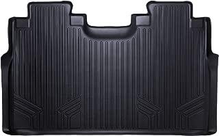 Black MAXLINER A0136//B0148 Floor Mats for Chevrolet Silverado//GMC Sierra Double Cab Extended 2014-2017 Complete Set