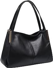 Heshe Women's Leather Handbags Top Handle Totes Bags Shoulder Handbag Satchel Designer Purse Cross Body Bag for Lady