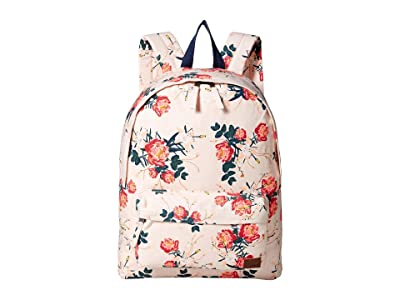 Roxy Sugar Baby Canvas 16L Small Backpack (Cloud Pink/Garden Lily) Backpack Bags