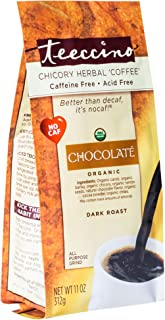 Sponsored Ad - Teeccino Chicory Coffee Alternative – Chocolaté – Ground Herbal Coffee That's Prebiotic, Caffeine-Free & Ac...