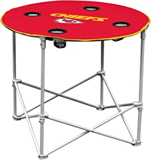 Indianapolis Colts  Collapsible Round Table with 4 Cup Holders and Carry Bag