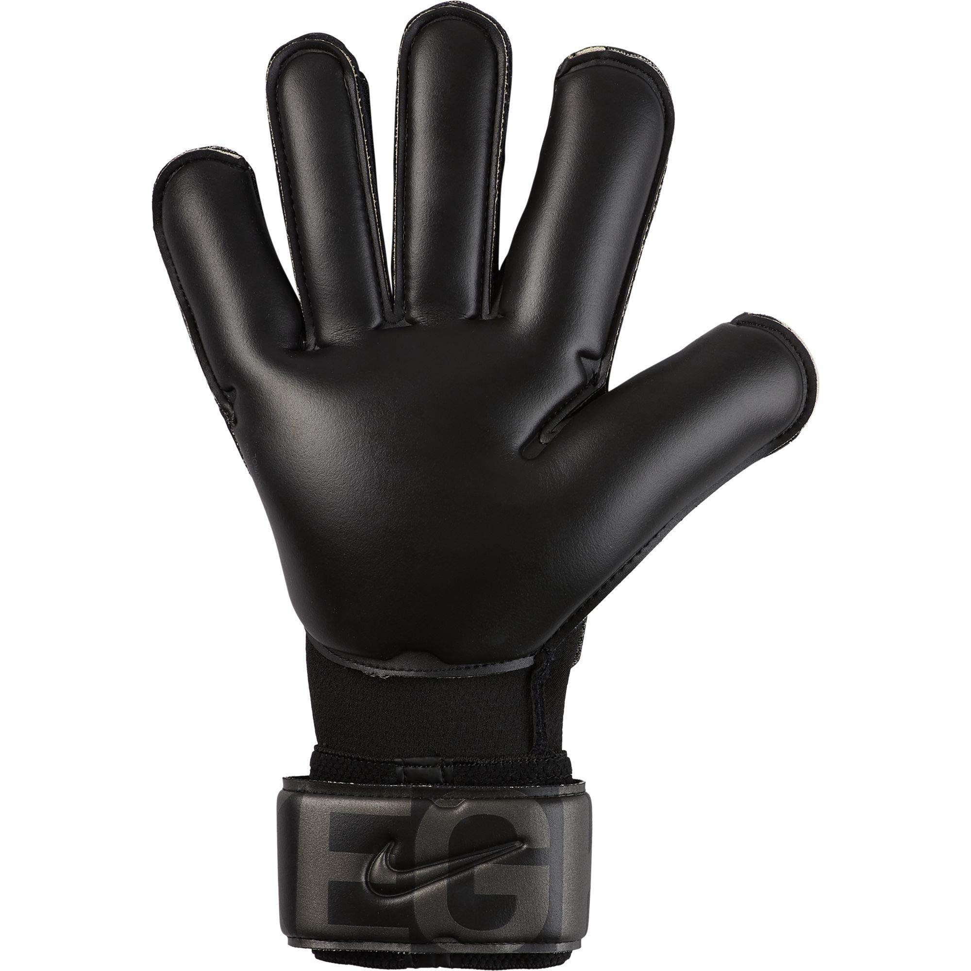 Rezumar creativo farmacéutico  Nike Vapor Grip 3 Goalkeeper Soccer Gloves (10, Black) : Sports & Outdoors  - Amazon.com