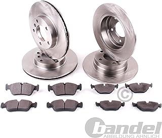 Bremsscheiben 16 Zoll/Bremsen + Bremsbeläge vorne + hinten