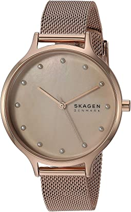 SKW2773 Rose Gold Stainless Steel Mesh
