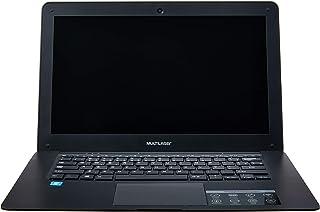 "Notebook Legacy Intel Quad Core Atom Z8350 RAM 2GB,  64GB (32+32SD) , Tela de 14"" HD Windows 10, Preto MULTILASER - PC107 com licença perpétua Microsoft Office"